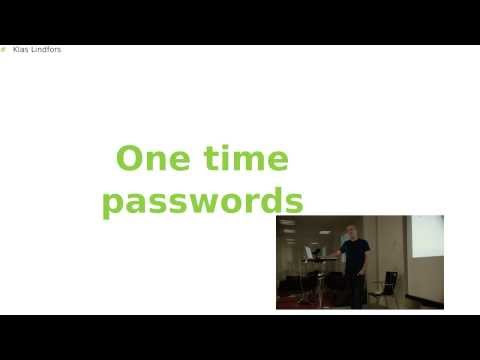 Klas Lindfors - One Time Passwords