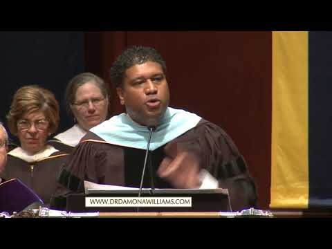 Dr. Damon A Williams 2017 University of Michigan Commencement Speech: Make America Great for All