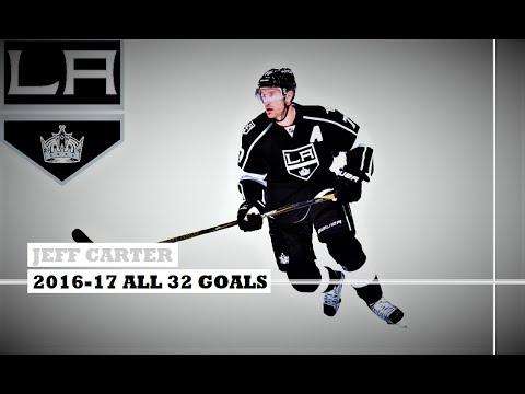 Jeff Carter (#77) ● ALL 32 Goals 2016-17 Season