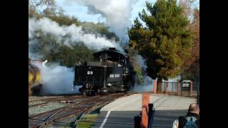 A Tribute To the Railtown 1897 Steam Locomotives