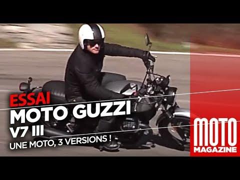 Moto Guzzi V7 III - Essai Moto Magazine