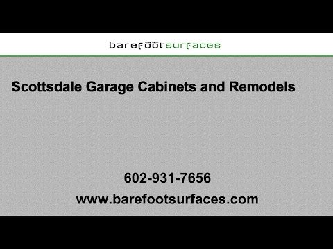 Scottsdale Garage Cabinets and Remodels | Barefoot Surfaces