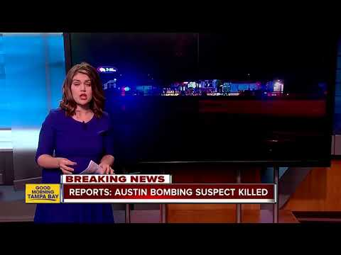 Austin serial bombing suspect dead, reports say