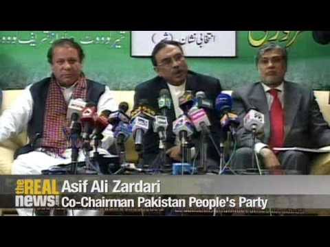 Opposition promises to remove Musharraf if elected