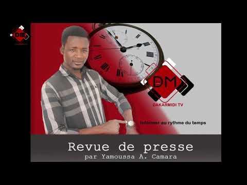 Revue De Presse De Yamoussa Aminata Camara Du Lundi 20 Aout 2018