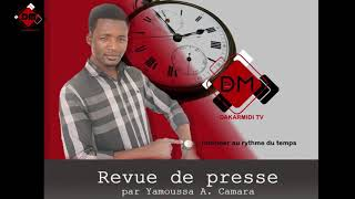 Gambar cover Revue de presse de Yamoussa Aminata Camara du Lundi 20 Aout 2018