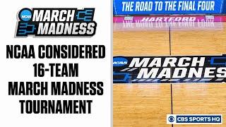 Coronavirus: NCAA considered 16-team March Madness Tournament | CBS Sports HQ