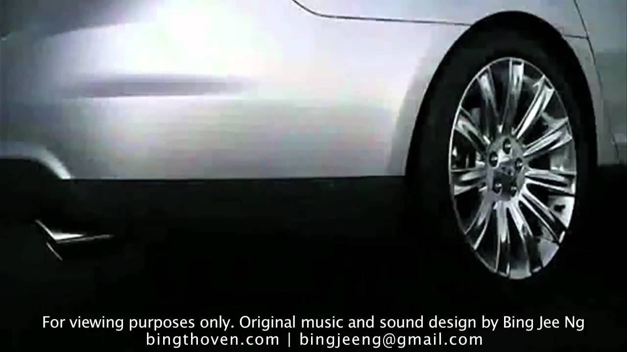 Lincoln Mks 2009 Ad With Original Music And Sound Design By Bing Jee