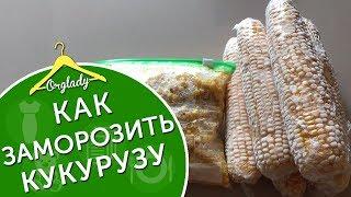 Два способа, как заморозить кукурузу.