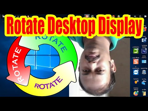 3 Methods To Rotate Screen On Windows 10 Computer