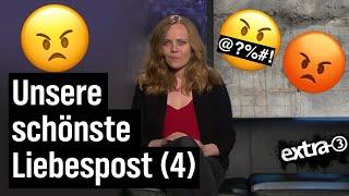 Sarah Bosetti liest Liebesbriefe an extra 3 (4)