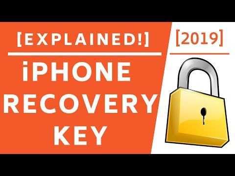Apple ID Recovery Key! [Explained]-2019
