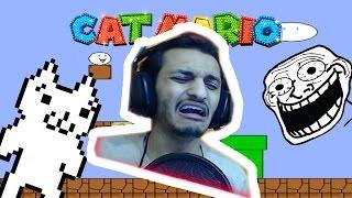 اللعبه اللي خلتني ابكي!! Cat Mario