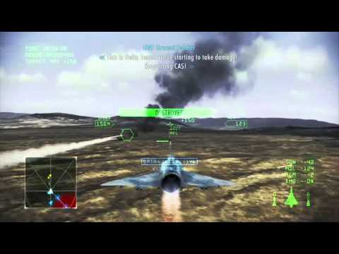 Ace Combat Infinity Mission 4 (Stonehenge)