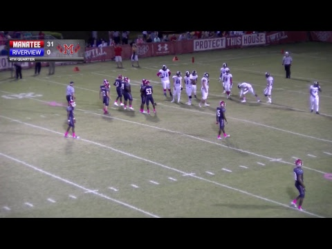 Manatee Vs.Tampa Riverview 10.20.17