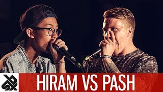 HIRAM vs PASH | WBC Solo Battle | Semi Final