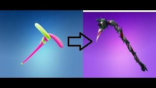 HOW to get candy cane axe in fortnite! {this is like the only way to getting this axe]