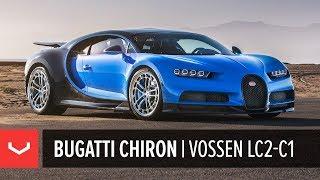 Bugatti Chiron | Vossen Forged LC2-C1 Wheels