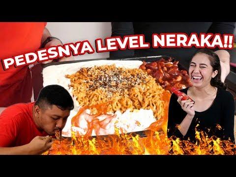 MUKBANG SAMYANG - PEDES LEVEL NERAKA ( GOKIL )