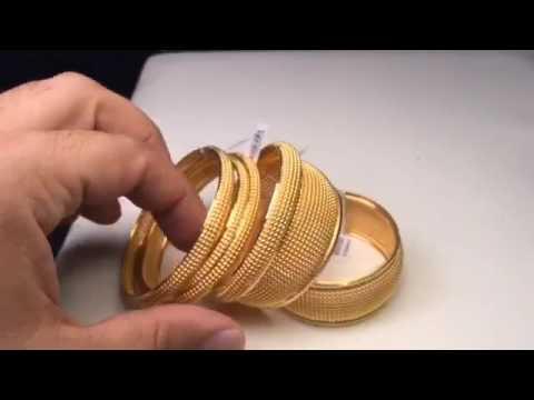 212145d90 اساور ذهب مميزه من جواهر النمر لتجارة الذهب