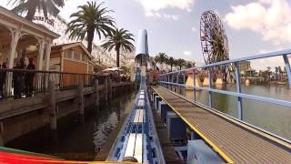 California Screamin Train Mount (HD POV) California Adventure