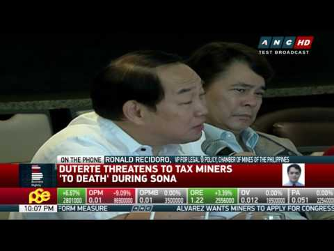 Mining chamber opposes ban on mineral exports