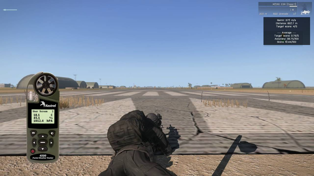 Precision & Accuracy Analysis of Arma 3 Rifles (with ACE3 mod