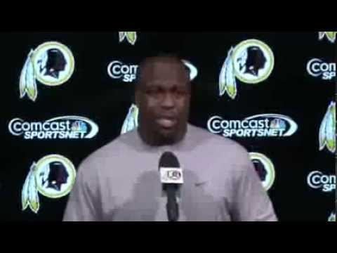 London Fletcher Post Practice Press Conference: 12/18/13