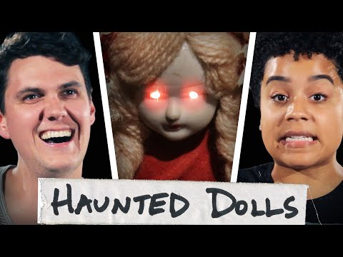 Thumbnail: We Lived With Haunted Annabelle Dolls