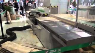 ZMAX Reciprocating sawing Machine 2014 CIFM / interzum guangzhou