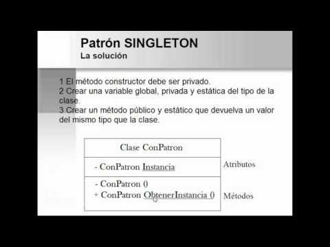 PATRÓN DE DISEÑO SINGLETON