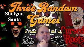 A Jolly Variety! - Three Random Games - Rouge.exe + Sh0t9un Santa + Cursed Roots