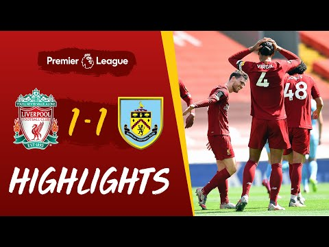 Highlights: Liverpool vs Burnley | Robertson scores, but Reds held at home
