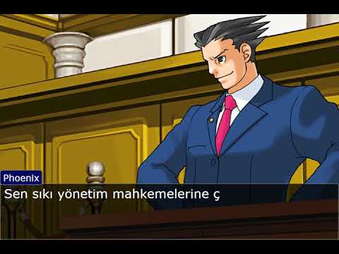 Sen Abdülhamit'i savundun but it's Ace Attorney