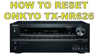 How to Reset Onkyo Amp Receive…
