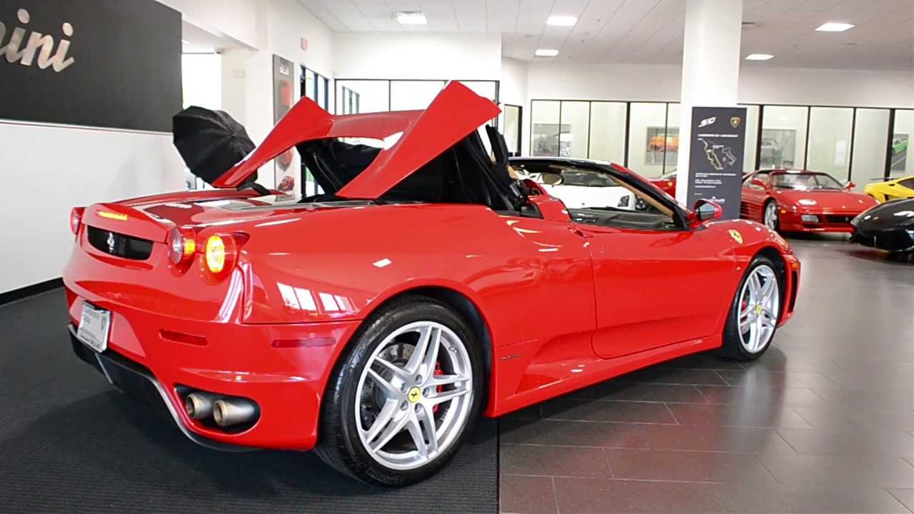 2007 ferrari f430 spider f1 l0522 - youtube