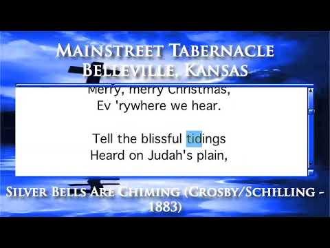 Silver Bells Are Chiming (Crosby/Schilling - 1883) - Organ Version