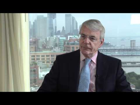 Interview with Sir John Major, Former Prime Minster of the UK and Senior Advisor to Credit Suisse