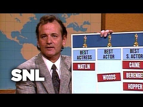 Bill Murray's Oscar Predictions - Saturday Night Live
