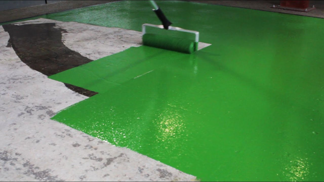 How To Paint An Anti Slip Floor Coating Rizistal Repair