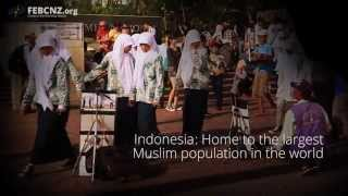 Indonesian Muslim family listens to Christian radio show and converts!