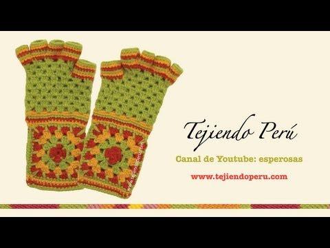 ... tejer un cuadrado en varios colores en crochet (Crochet granny square