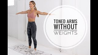 No Equipment ARMS Workout // TONE + DEFINITION