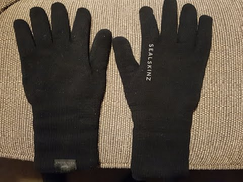 Sealskinz Ultra Grip Waterproof Gloves Review November 2017
