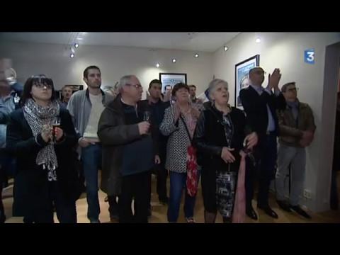 Ambiance au QG du Front National à Rouen / Présidentielle 2nd tour