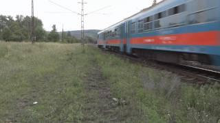 Majdnem gázoltak a vonatok (Almost train accident)