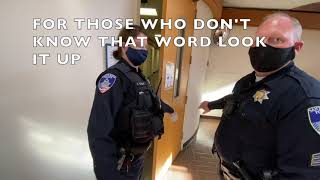SANTA ROSA PD PART2!!! YOU HAVE TO SEE THIS!! 1ST AMENDMENT