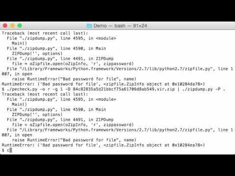 WannaCry Simple File Analysis | Didier Stevens