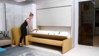 Kali Duo Sofa | Resource Furniture | Wall Bed Systems