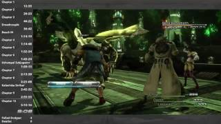 Final Fantasy XIII Speedrun in 5:08:10 (PC)